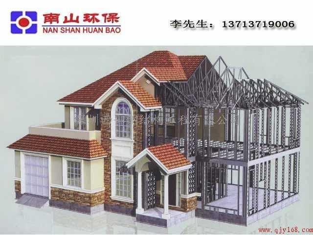 轻钢案例那么好普及被没有风格现代别墅装修简约别墅图片