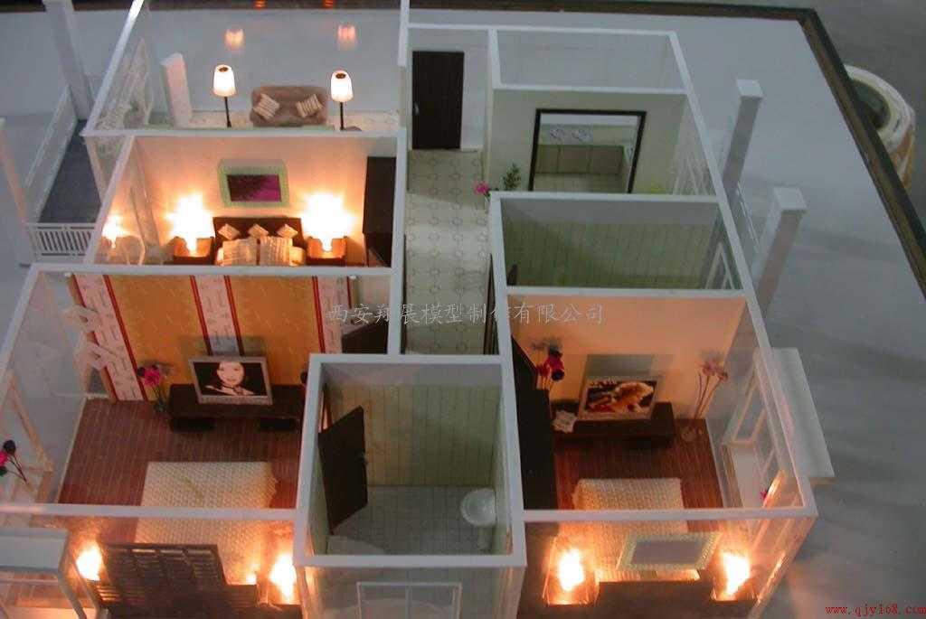 西安模型制作-室内剖面模型