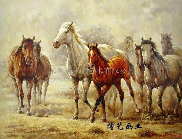 油画 多彩艺术 多彩油画 大芬油画 中国油画 动物油画