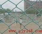 绿色包塑铁丝网 防护网 304不锈钢勾花网护栏网安装刺钉