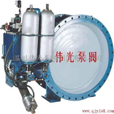 7传动液压缸上设有快关时间调节阀图片