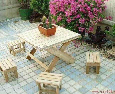 防腐木,樟子松,菠萝格,户外休闲木制品