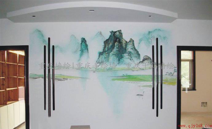 重庆手绘墙 重庆墙绘 重庆壁画 儿童房墙绘 电视背景墙墙绘 墙体彩绘