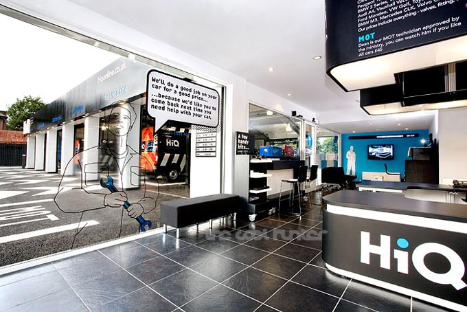 设计汽车美容店,上海汽车美容店设计,汽车修理厂装修