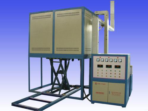 河南升降电炉|洛阳液压升降电炉|洛阳鲁威窑炉|高温图片