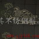 佛山彩色不锈钢板,不锈钢鸳鸯花纹板