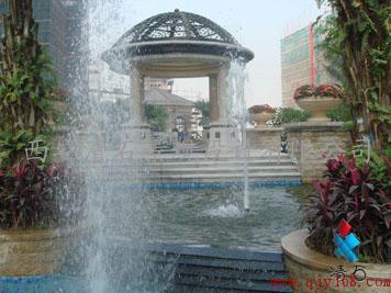 承接假山喷泉,亭子花架,雕塑景墙,园桥园路,花坛树池,驳岸护坡,人工图片