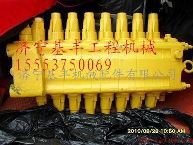 小松配件小松挖机配件液压泵分配阀图片