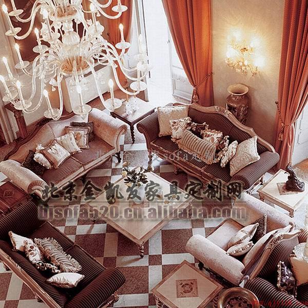 民用高档沙发 别墅沙发 欧式沙发图片