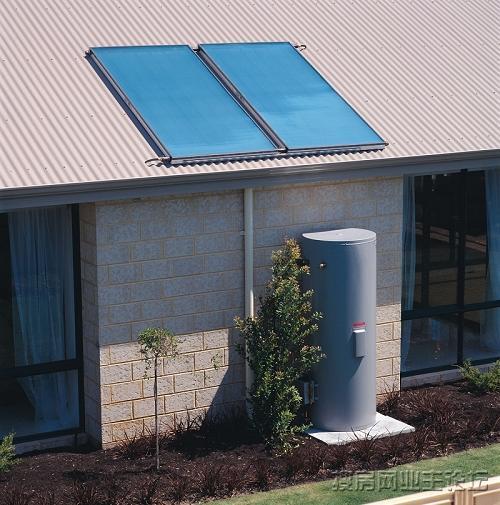 别墅式太阳别墅热水器平板温泉介绍华阴御图片