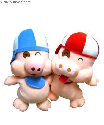 麦兜响当当卡通猪麦兜猪公仔75cm 布易价格: ¥48图片