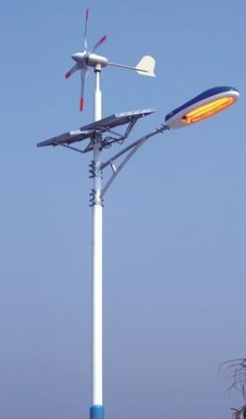 新疆太阳能路灯,西安供应优质风光互补太阳能路灯图片