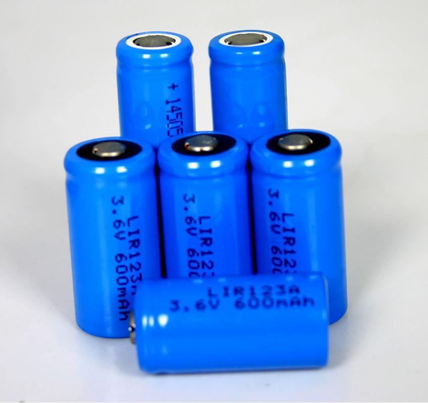 锂电池 123a 3.6v图片