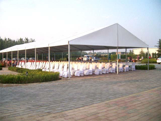 户外庆典聚会活动篷房,接待活动帐篷,篷房租赁图片