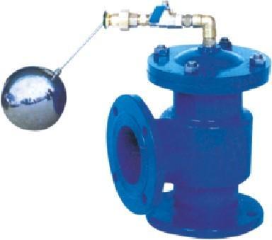 水位控制阀 lh45x-16微阻限流止回阀 yq98001型图片