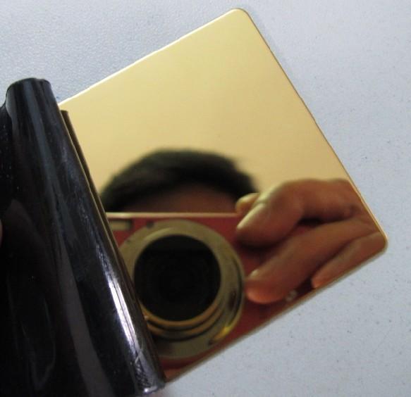 金色镜面不锈钢,日本金镜面不锈钢,201镜面不锈钢板图片