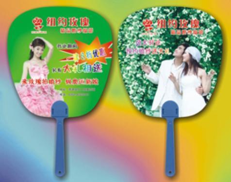 南宁广告扇制作厂家 塑料广告扇定做 广告扇批发价格