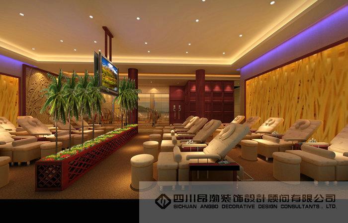 民族风格饭店设计