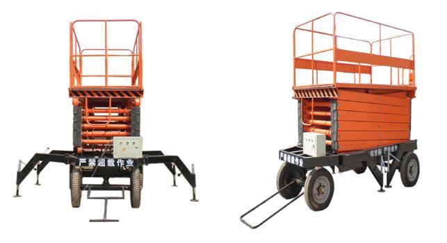 液压升降机|剪叉式移动升降机|高空作业平台图片