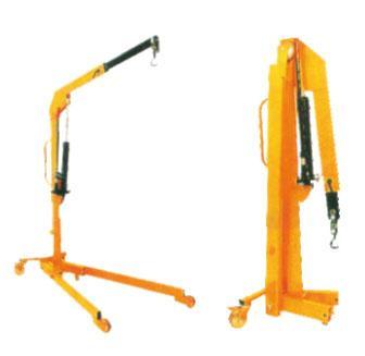 手动液压小吊车;吊车;折臂式吊机图片图片
