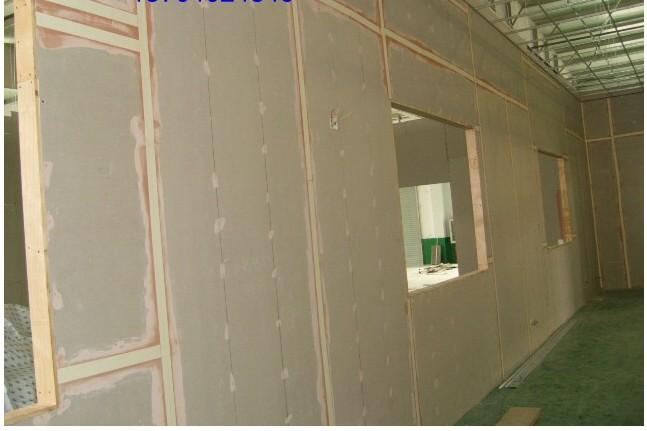 石膏板隔墙效果图