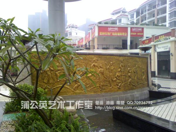 广西南宁市壁画雕塑,广西浮雕工作室,南宁幼儿园壁画