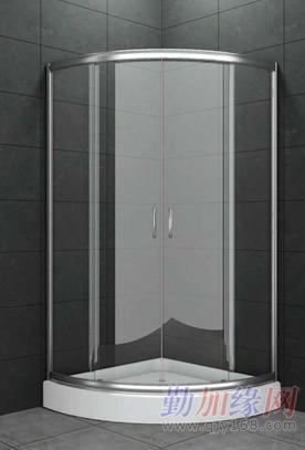 华丽雅承接酒店淋浴屏风工程