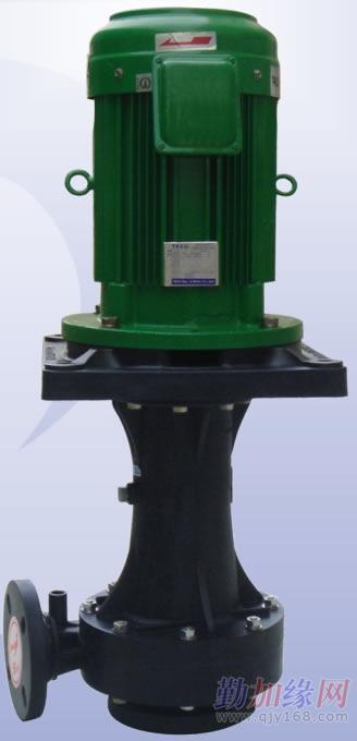 直立式耐酸碱泵浦图片