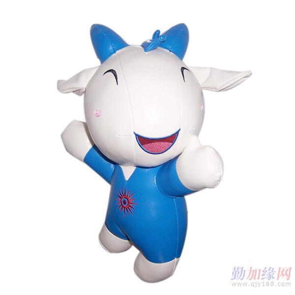 亚运五羊(阿祥阿和阿意阿如乐羊羊)吉祥物汽车挂饰图片
