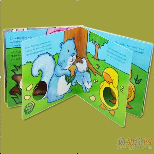 第四色播播动物与人_儿童纸板书-动物皮毛书