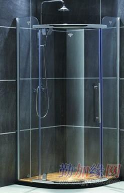 淋浴屏风工程专业人员上门测吝寸