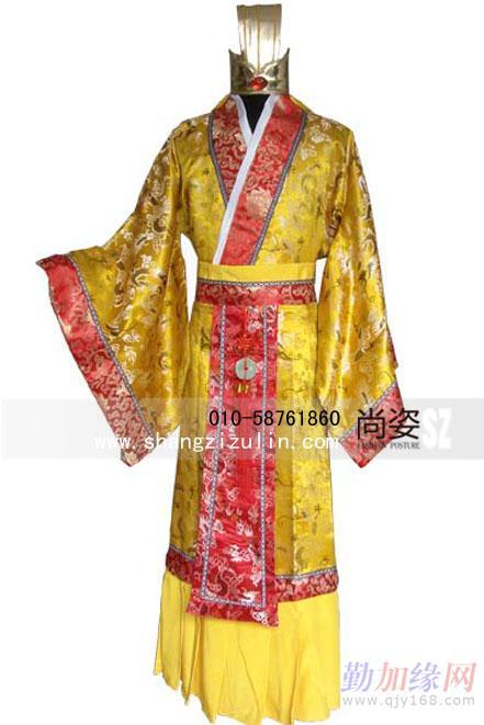 清朝妃子服装手绘图片