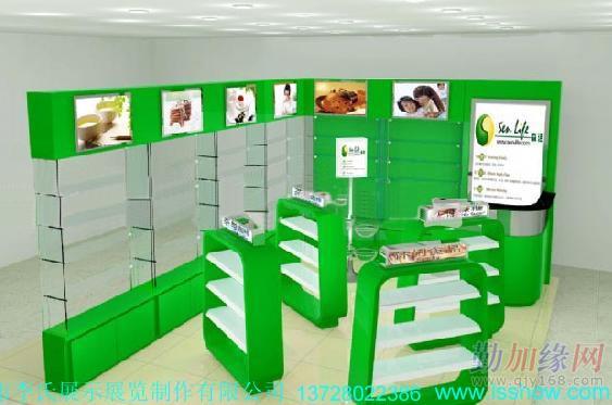 供应婴幼儿产品展示柜/婴幼儿用品专卖店设计制作