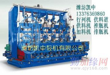 供应玻璃瓶罐制造设备-行列机(图)潍坊凯中轻机图片