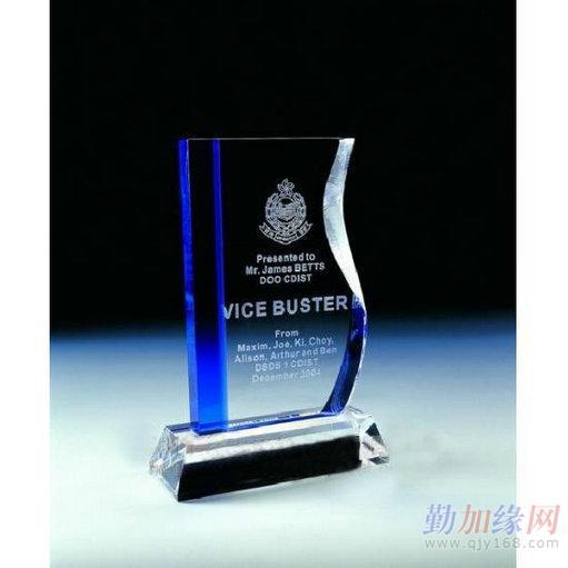 水晶奖杯水晶奖牌k9料内雕奖杯可免费喷砂logo一件起批