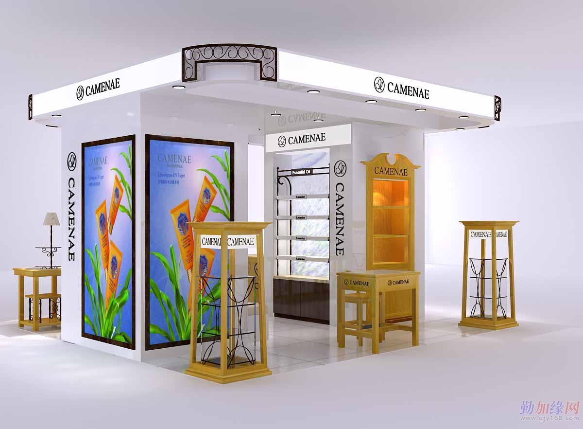 高级化妆品展柜定做-梵之宇装饰工程设计