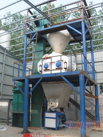全自动干粉砂浆设备铜编织图片