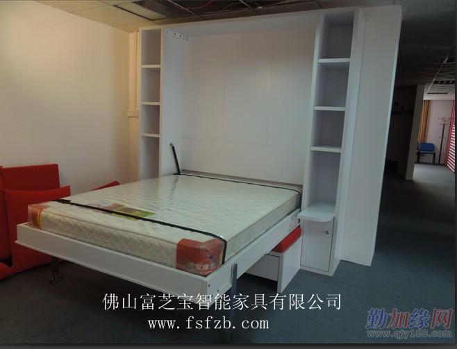 富芝宝壁床隐形床折叠床多功床371电池手表图片