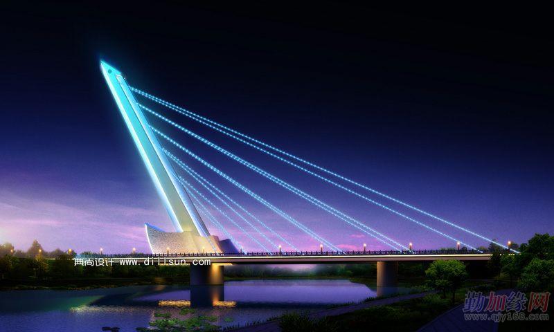 上海室内效果图制作 建筑效果图 道路桥梁效果图
