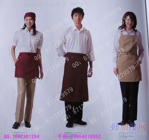 蛋糕店服装/面包房员工制服/厨房制服/厨师工作服/快图片