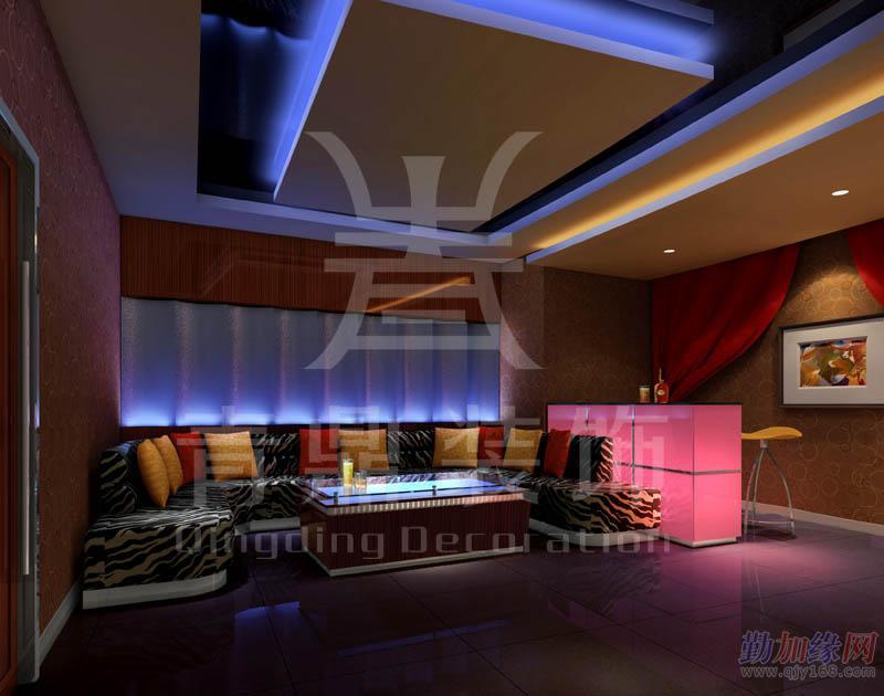 酒吧钢架大厅设计图