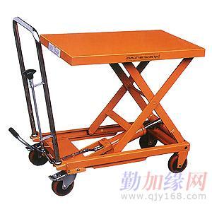 主要产品:    小型平台车系列:手动液压平台车(标准型),非标准型图片