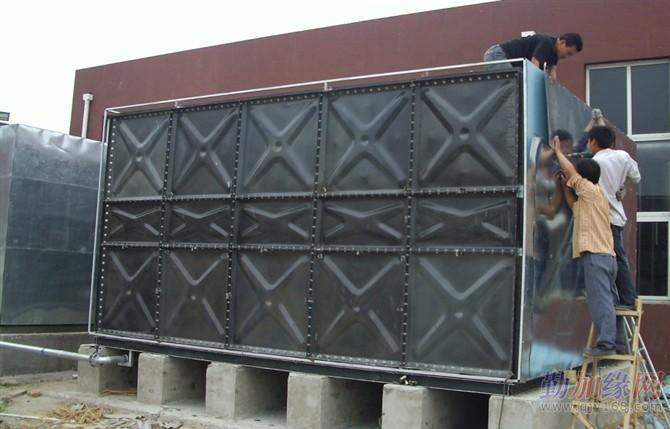 大品牌搪瓷钢板水箱腾翔品牌引领装配式搪瓷钢板水箱新技术图片