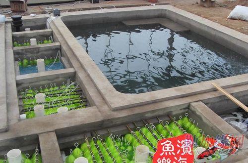室内锦鲤鱼池设计图 锦鲤鱼池建造方法 锦鲤鱼池过滤