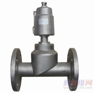 产品特点: 角座阀具有流量大,流阻小,无水锤: y型设计,扩大了阀腔流通图片