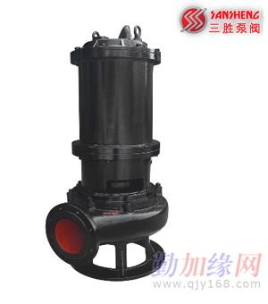 2,潜水排污泵在电动机和泵之间的轴封装置由双端面机械密封与回转式