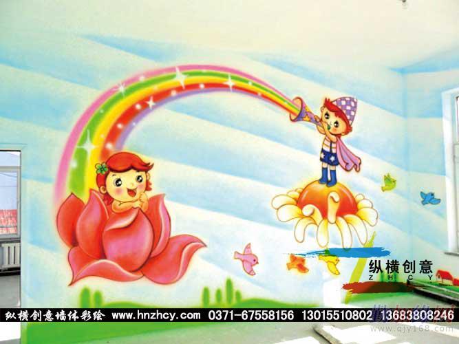 新乡幼儿园手绘墙画