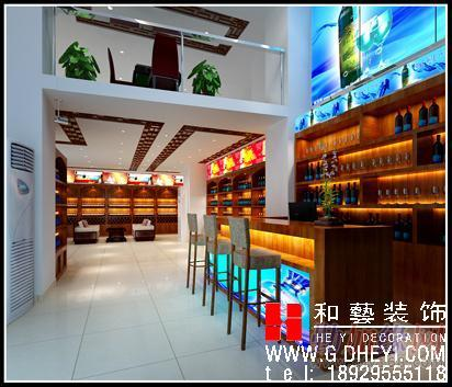 广州市茶餐厅装修设计找和艺装饰公司