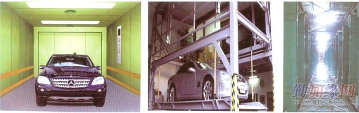 垂直升降式立体车库图片