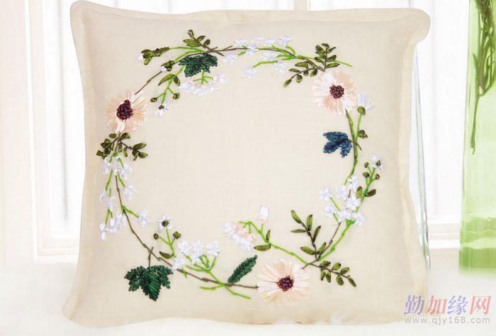 手绘帆布包花束图案